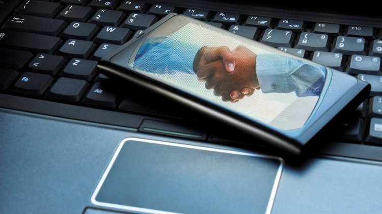Smartphones are becoming the preferred method of connecting, communicating and accessing information or analytics in the work environment