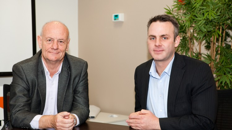World Vision Australia CEO, Tim Costello, and director of people & culture, Nathan Callaghan, work proactively together to drive supporter engagement