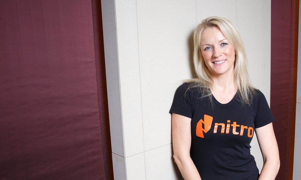 Nitro COO, Gina O'Reilly, says a focus on the employee experience has been key to the company's success