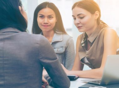 women in workplace showing gender equality